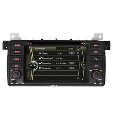 1Din Stereo GPS SatNavi DVD Radio Headunit for BMW E46 320i 323i 325i 328i 330i
