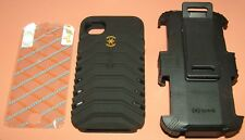 Speck ToughSkin Dual Layer Hybrid case with holster for iPhone 4/4s, Black, NEW