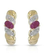 Brand New Earrings With 0.51ctw Precious Stones