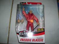 WWE Mattel Classy Freddie Blassie Elite Series 77 Collector's Edition figure NIB