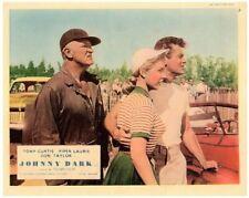 Johnny Dark Original Lobby Card Vintage Race Cars Tony Curtis Piper Laurie