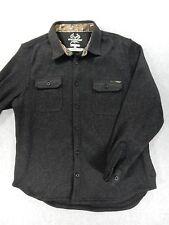 RealTree Xtra HeavyWeight Long Shirt Button Down Shirt (Mens XL) Dark Gray
