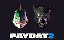 PAYDAY 2 Halloween 2014 Exclusive Lycanwulf and The One below Maks - Steam key