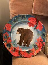 "Anthropologie Rebecca Rebouche Secret Berry Patch Plate 8"""