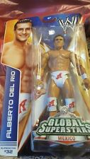 WWE Mattel Alberto Del Rio Global Superstars #32 Wrestling Figure