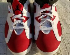 Air Jordan 6 Retro Carmine 2014 Mens 384664-160 Basketball Shoes Size 13