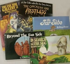 The Far Side (5 books) by Gary Larson