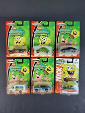 Matchbox Nickelodeon Spongebob Squarepants Lot 6 Cars Chevy Ford VW Truck Boat