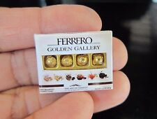 MINIATURES BOX OF CHOCOLATE FERRERO ROCHER GOLD VALENTINE'S DAY