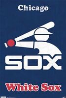 CHICAGO WHITE SOX ~ RETRO LOGO 22x34 POSTER MLB Baseball NEW/ROLLED!