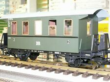 Piko 37125 2.Klasse: Personenwagen, Grün, DR, Gartenbahn, IIm