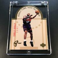 CHARLES BARKLEY 1993 UPPER DECK SE #W10 DIE CUT ALL-STAR GOLD FOIL INSERT NBA