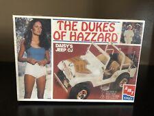 AMT 1:25 Dukes Of Hazzard Daisy's Jeep CJ7 Model Kit NIB Sealed