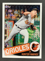 2020 Topps Series 2 Hunter Harvey 85TC-5 Rookie Refractor SP Baltimore Orioles