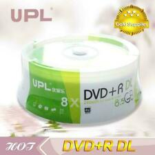 25 Pack UPL Blank Printable 2-8x DVD+R DL Dual Layer 8.5GB D9 DVD Media Discs