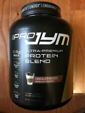 JYM Supplement Science PRO JYM Chocolate Mousse 4lb Protein Blend Whey 08/2022