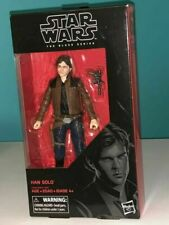 Star Wars The Black Series Han Solo Poseable Action Figure With Gun (2018)