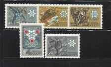 U.R.S.S. Año: 1967. Tema: OLIMPIADAS DE INVIERNO EN GRENOBLE-1968.