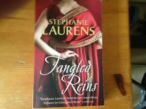 ROMANTIC NOVEL: TANGLED REINS! by Stephanie Laurens (Paperback, 2010) - USED