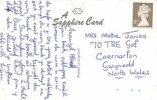 Mattie Jones. 70 Tre Gof, Caernarfon, Gwynedd, Wales - Lizzie   RH.76