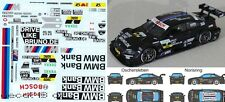 1/43 Decal BMW M3 DTM 'Drive Like Bruno' / 'BMW Bank' DTM 2012 Bruno Spengler