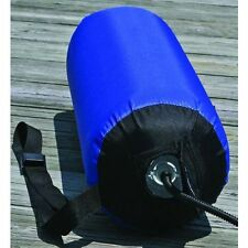 Fender 22 x 68 cm aufblasbar Gr.L blau Gurtband Stow Away Bootsfender Langfender
