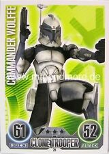 Star Wars Force Attax  Commander Wolffe #025