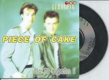 PIECE OF CAKE - Do it again! CD SINGLE 2TR EUROVISION 1999 Eurosong BELGIUM