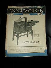 Woodworker December 1951 ~ Retro Vintage Illustrated Magazine + Advertising