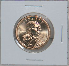 Sacagawea 2003 P Dollar Coin Uncirculated BU Philadelphia