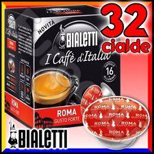 32 Capsule caffè BIALETTI ROMA cialde Mokespresso alluminio espresso Mokona Diva