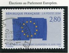 TIMBRE FRANCE OBLITERE N° 2860 PARLEMENT EUROPEEN / Photo non contractuelle