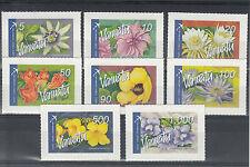 More details for vanuatu 2006 mnh tropical flowers definitives international post 8v s/a set