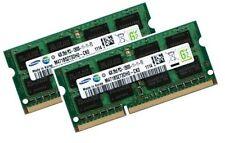 2x 4gb 8gb di RAM ddr3 1600 MHz Fujitsu-Siemens LIFEBOOK a512 Samsung Memoria