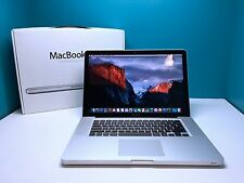 MacBook Pro 15 OSX 2015 Pre-Retina *Core i7 2.66Ghz* DVD/RW 1TB SSD Hybrid 🇺🇸