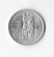 1958 Canadian Silver Dollar (MS-60)