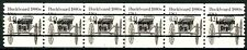 Buckboard 1880s Precancel MNH PNC6 Plate # 1 With Cancel Line Gap Scott's 2124A