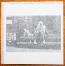 """SIGNED ELLIOTT ERWITT BULL DOGS NEW YORK, 2000 LTD 6"""" x 6"""" MAGNUM ARCHIVAL PRINT"""