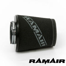 Universel 63 mm cou Ramair Performance induction Cône Mousse Filtre Air