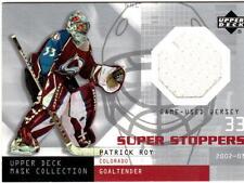 NHL TRADING CARDS --- Jersey Cards --- Patrick Roy --- Colorado Avalanche