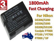 OEM EN-EL14 1800mAh Backup Battery For Nikon Camera D3100 D3200 D5100 P7000