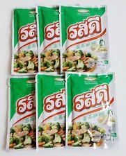 6 X ROSDEE All-In-0ne Pork Flavoring Menu Thai Food Seasoning Cook Taste Best