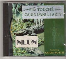 (GL811) La Touche, Cajun Dance Party ft Gator Two-Step - 1995 CD