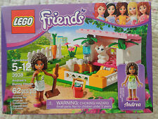 NEW SEALED BOX - LEGO #3938 ANDREA'S BUNNY HOUSE - 2012 (RETIRED) PERFECT GIFT