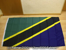 Fahnen Flagge Tansania - 90 x 150 cm