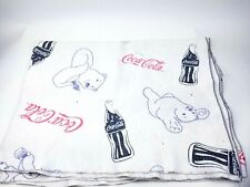 Coca Cola Polar Bear Coke And Coke Bottle Blanket