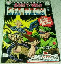 Our Army at War 165, VF (8.0) 1966 2nd Iron Major! 40% off Guide!