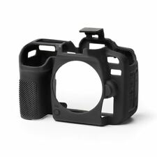 easyCover Silicone Skin Soft Case Camera Protection Cover for Nikon D7500 Black