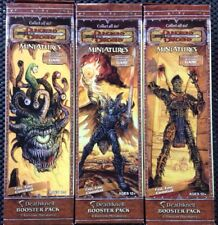 DUNGEONS AND DRAGONS MINIATURES DEATHKNELL BOOSTER PACKS BRAND NEW SEALED