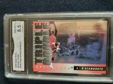 Michael Jordan 1993 Upper Deck Triple Double Hologram #TD2  Graded 8.5 NM-MT+